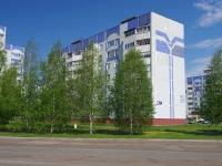 Нижнекамск, улица Сююмбике, дом 24. многоквартирный дом
