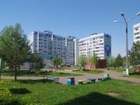 Нижнекамск, улица Чишмале, дом 1. многоквартирный дом