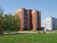 Нижнекамск, улица Чишмале, дом 4. многоквартирный дом