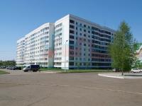 Нижнекамск, улица Чишмале, дом 10. многоквартирный дом
