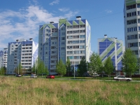 Нижнекамск, улица Чишмале, дом 17. многоквартирный дом