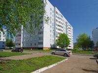 Нижнекамск, улица Чулман, дом 10. многоквартирный дом