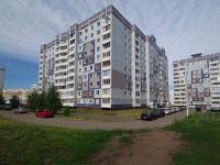 Нижнекамск, улица Студенческая, дом 8Б. многоквартирный дом