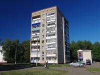 Нижнекамск, улица Корабельная, дом 12. многоквартирный дом
