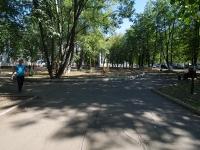 Нижнекамск, улица Тукая. сквер