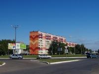Нижнекамск, улица Вокзальная, дом 14. многоквартирный дом