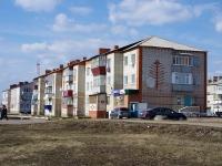 Нурлат, улица Ленинградская, дом 1. многоквартирный дом
