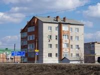 Нурлат, улица Самаренкина, дом 3. многоквартирный дом