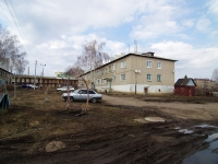 Нурлат, Заводской переулок, дом 4. многоквартирный дом