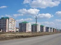 Нурлат, улица Кариева. вид на улицу Кариева