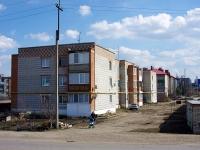 Нурлат, улица Хамадиева, дом 2. многоквартирный дом