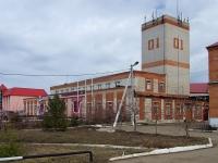 Нурлат, улица Хамадиева, дом 17. пожарная часть