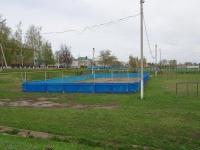 Нурлат, улица Московская. спортивная площадка
