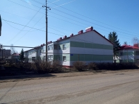 Нурлат, улица Салимжанова, дом 9. многоквартирный дом