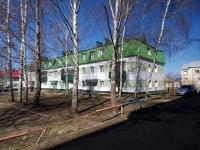 Нурлат, улица Салимжанова, дом 11. многоквартирный дом