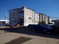 Нурлат, улица Салимжанова, дом 13. многоквартирный дом