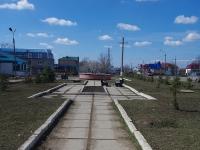 Нурлат, улица Гиматдинова. сквер