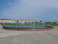 Нурлат, улица Гагарина. парк