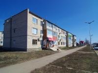 Нурлат, улица Школьная, дом 11. многоквартирный дом