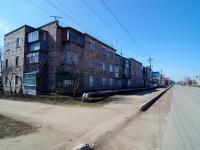 Нурлат, улица Школьная, дом 14. многоквартирный дом