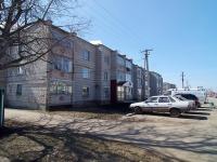 Нурлат, улица Школьная, дом 26. многоквартирный дом