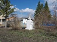 Нурлат, улица Школьная. памятник В.И. Ленину