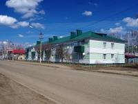 Нурлат, улица Козлова, дом 4. многоквартирный дом