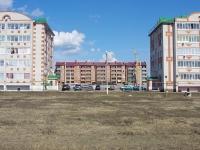 Нурлат, улица Тимерзянова. строящееся здание