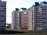 Nurlat, st Khalikov, house 46. Apartment house