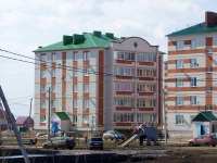 Nurlat, st Khalikov, house 48. Apartment house