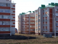 Nurlat, st Khalikov, house 50. Apartment house