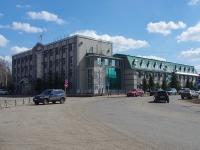 Нурлат, улица Советская, дом 100. офисное здание