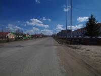 Нурлат, улица Советская. вид на улицу Советская