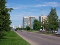 Набережные Челны, общежитие Поволжской ГАФКСиТ, улица Низаметдинова, дом 1Б