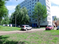 Naberezhnye Chelny, Khadi Taktash st, house 25. Apartment house