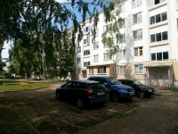 Naberezhnye Chelny, Khadi Taktash st, house 40. Apartment house