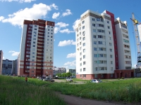 Naberezhnye Chelny, Arkyly st, house 17. Apartment house