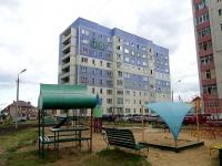 Набережные Челны, улица Комсомольская Набережная, дом 40. многоквартирный дом