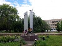 Naberezhnye Chelny, monument Воинам-интернационалистамYamashev blvd, monument Воинам-интернационалистам