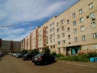 Набережные Челны, улица Железнодорожников, дом 12. многоквартирный дом
