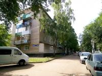 Набережные Челны, улица Железнодорожников, дом 61. многоквартирный дом