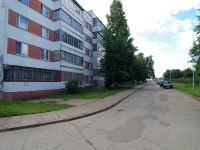 Naberezhnye Chelny, Usmanov st, house 12. Apartment house