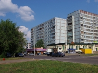 neighbour house: st. Usmanov, house 52. Apartment house