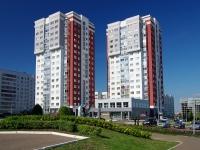 Naberezhnye Chelny, Khasan Tufan avenue, 房屋 45А. 公寓楼
