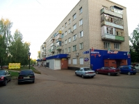 neighbour house: alley. Yunosti, house 7. Apartment house