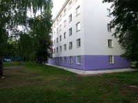 neighbour house: alley. Yunosti, house 9. Apartment house