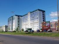 Набережные Челны, Московский проспект, дом 55. многоквартирный дом