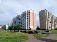 Набережные Челны, улица 40 лет Победы, дом 55А. жилой дом с магазином