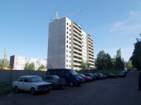Naberezhnye Chelny, Domostroiteley Blvd, house 1. building under construction