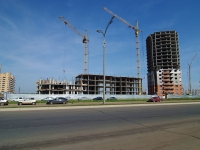neighbour house: st. 65th complex, house 4. building under construction